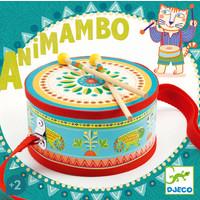 Djeco Animambo Hand Drum (Musical Instrument)
