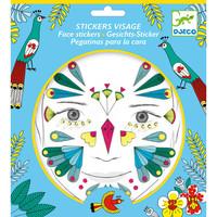 Djeco Face Stickers Bird