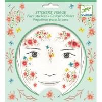 Djeco Face Stickers Springtime Fairy
