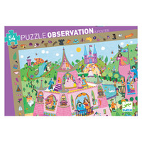 Djeco Observation Puzzle - Princess