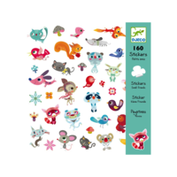 Djeco PG Stickers Little Friends