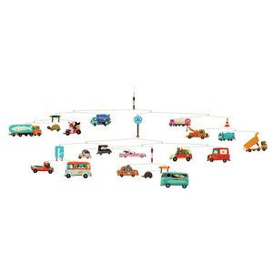 Djeco Polypro Mobiles Traffic Jam