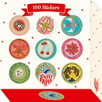 Djeco Stickers 100 Aurelia Stickers
