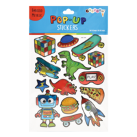 Iscream Toys & More Pop Up Stickers