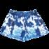 Iscream Blue Tie Dye Plush Shorts