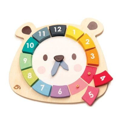 Tender Leaf Toys Bear Colour's Clock