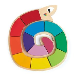 Tender Leaf Toys Colour Me Happy - Shapes and Colors Snake