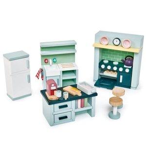 Tender Leaf Toys Dovetail Kitchen Set for Dollhouse