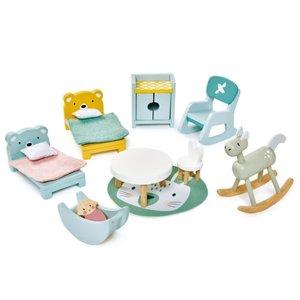 Tender Leaf Toys Dovetail Kidsroom Set for Dollhouse