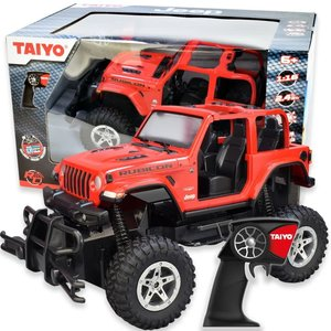 Thin Air Brands Jeep Wrangler Rubicon R/C (Red)