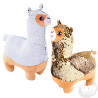 "The Toy Network Sequinimals Llama (10"")"