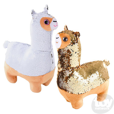 "The Toy Network Sequinimals Llama (18"")"