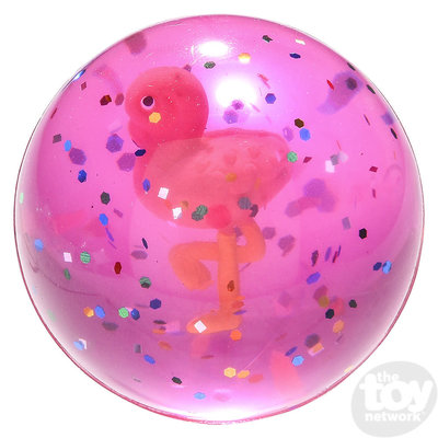 The Toy Network Flamingo Hi-Bounce Ball