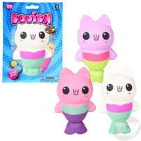 The Toy Network Squishie Mermaid Cat