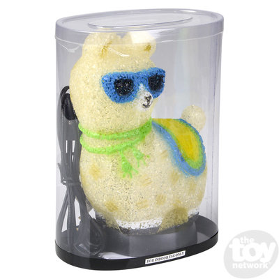 """The Toy Network Sparkle Llama Lamp - 8"""""""