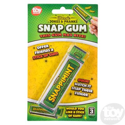 The Toy Network Joke Snap Gum