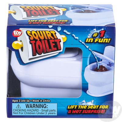 The Toy Network Squirt Toilet - Boxed
