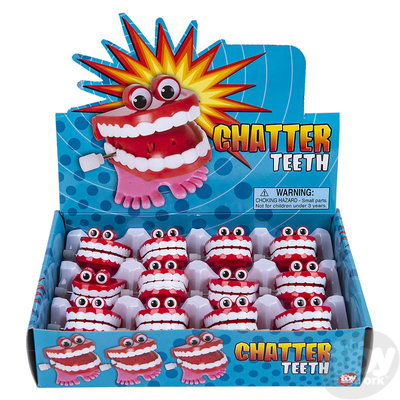 The Toy Network Chatter Teeth with Eyes