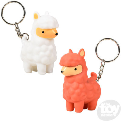 The Toy Network Alpaca Pooping Keychain