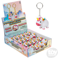 The Toy Network Unicorn Pooping Keychain