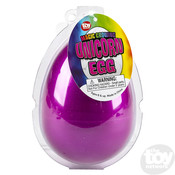 The Toy Network Jumbo Growing Unicorn Egg - Submerge in Water and Watch in Hatch