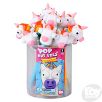 The Toy Network Pop Out Eyes - Unicorn Pen