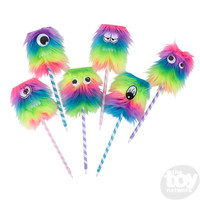 """The Toy Network Rainbow Monster Pen - 10"""""""