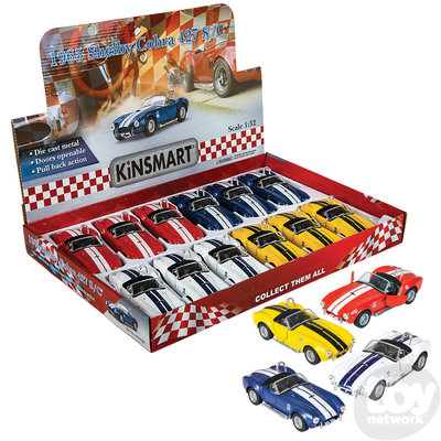 The Toy Network 1965 Shelby Cobra 427