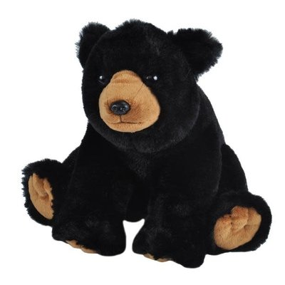 Wild Republic Bear Black