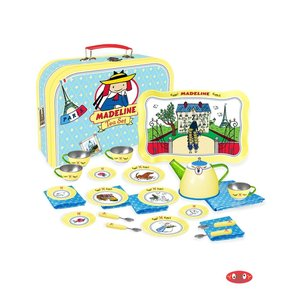 Yottoy Productions, Inc. Madeline - Tin Tea Set Party for 4! (24 pc)