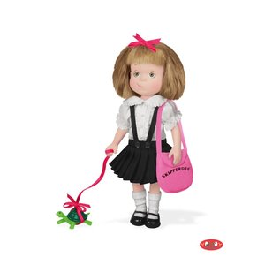 """Yottoy Productions, Inc. Eloise - 8"""" Poseable Doll with Skipperdee"""
