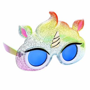 Sunstaches Lil' Characters Rainbow Unicorn Poop Sun-Staches