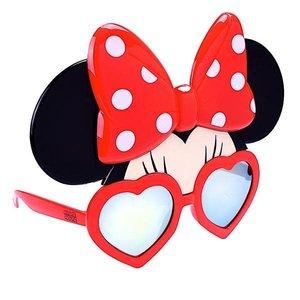 Sunstaches Minnie Mouse Heart Frame Orange Lens Sun-Staches