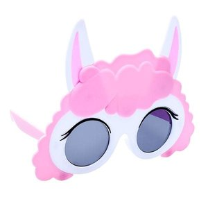 Sunstaches Pink Llama Sun-Staches