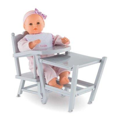 Corolle Baby Doll High Chair (BB14'' & 17'' High Chair)