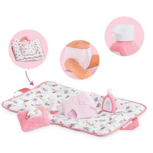 """Corolle Baby Doll Changing Accessories Set (for babies 12"""" & 14'' & 17'')"""