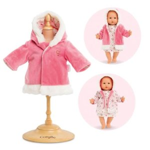 """Corolle 14"""" Coat for Baby Doll - Enchanted Winter"""