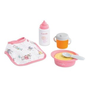 """Corolle BB12"""" Mealtime Set for Baby Dolls"""