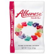 Redstone Foods Albanese - Mini Gummi Butterflies (7.5oz Peg Bag)