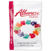 Redstone Foods Albanese Mini Gummi Butterflies Peg Bag