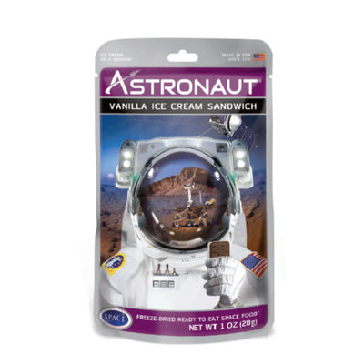 Redstone Foods Astronaut Food - Vanilla Ice Cream Sandwich