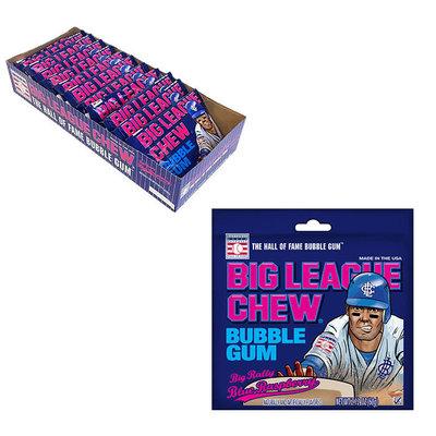 Redstone Foods Big League Chew Blue Raspberry Peg Bag