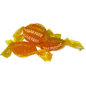 Redstone Foods Butterscotch Buttons Wrapped Sugarfree - 2 Handfuls for $1
