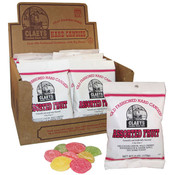Redstone Foods Claeys Old Fashioned Hard Candy Peg Bag - Assorted Fruit