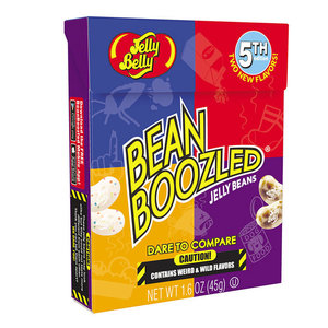 Redstone Foods Jelly Belly Flip Top Box - Bean Boozled Jelly Beans