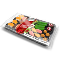 Redstone Foods Raindrops Gummy Sushi (Large Tray)