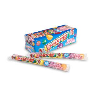 Redstone Foods Smarties Bubble Gum Balls - 10 Pc Tubes
