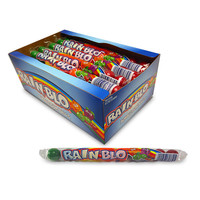 Redstone Foods Rainblo - Bubble Gumballs 10 Pc In Tube