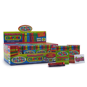 Redstone Foods Magic Colors Bubble Gum Crayons