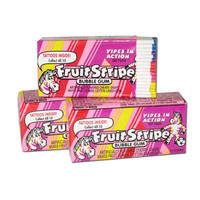 Redstone Foods Fruit Stripe Bubble Gum